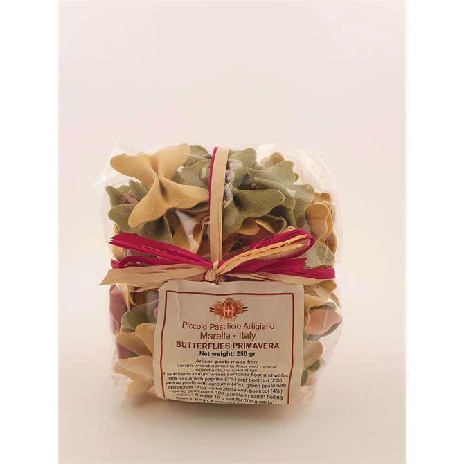 Marella Spring Butterfly Coloured Pasta 250G